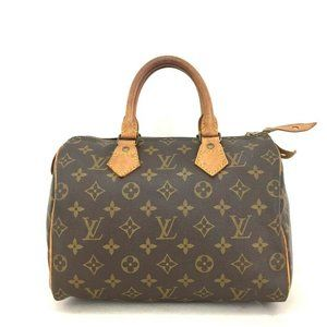 Louis Vuitton Speedy Handbag Monogram Canv…